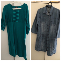 Used 2 Ladies tops size 46 and size XL in Dubai, UAE