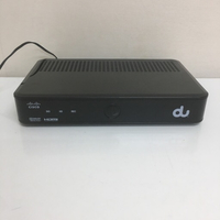 Used Cisco iptv setup box by du in Dubai, UAE