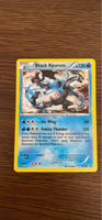 Used Black Kyurem holo Pokémon card XY160 in Dubai, UAE
