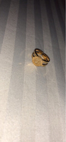 Used Authentic 18K gold plated baby ring. in Dubai, UAE