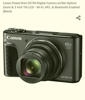 Used Canon camera sx 730HS in Dubai, UAE
