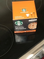 Used Starbucks macchiato coffee pods  in Dubai, UAE