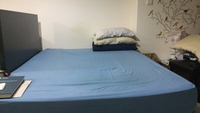 Used Queen Size Bed & Mattress - No Headboard in Dubai, UAE