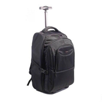 Back pack with wheel