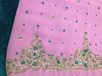 Used Saree with lining  in Dubai, UAE