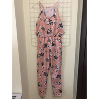 Used Pink Floral Jumpsuit in Dubai, UAE