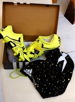 Used Sports Adidas Shoes - size 42 2/3 Yellow in Dubai, UAE
