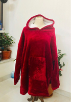 Used Huggle Hoodie Red ( free size ) in Dubai, UAE