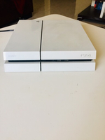 Used Exclusive White PS4 with two dual shock in Dubai, UAE