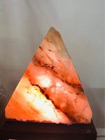 Used Himalayan Salt Lamp Pyramid Design  in Dubai, UAE