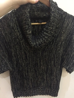 Used Black and gold light sweater small  in Dubai, UAE
