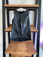 Used New ZARA faux leather top in Dubai, UAE