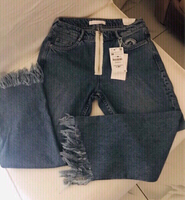 Used Zara Trafaluc Hem  Jeans NEW ❤️ in Dubai, UAE