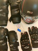 Used Helmet set includes protection items in Dubai, UAE