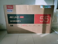 Used New TCL 55 inch 4k UHD android Tv in Dubai, UAE