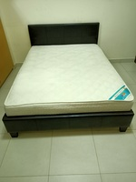Used Pan Emirates Bed with mattress in Dubai, UAE