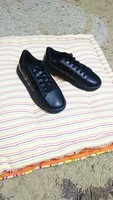 Used Adidas black shoes for kid size 36 new in Dubai, UAE