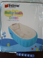 Used inflatable baby bath tub. blue in Dubai, UAE