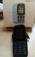 Used NEW MOBILE PHONE NOKIA 105 WITH CHARGER in Dubai, UAE
