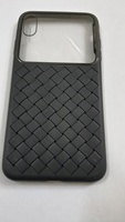 Used Iphone Xs Max knitted case black in Dubai, UAE