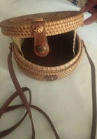 Used Rattan cross body bag brand new in Dubai, UAE