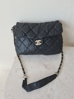 Used CHANEL REAL LEATHER BAG.. in Dubai, UAE