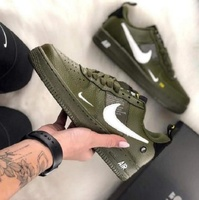 Used Nike airforce,  green,size 43 in Dubai, UAE