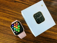 Used Apple W26 Smart Watch Rose Gold - Clone in Dubai, UAE