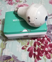 Used Wifi panoramic Bulb security camera in Dubai, UAE