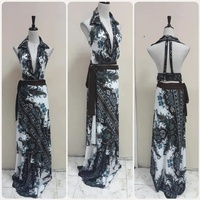 Used Brand new backless maxi Dress * in Dubai, UAE