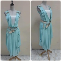 Used Dress with belt amazing for lady * in Dubai, UAE