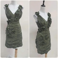 Used Elegant green Dress for Women * in Dubai, UAE
