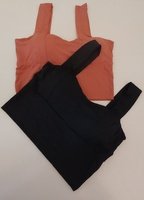 Used 2 Pcs Stretchable Crop Top in Dubai, UAE