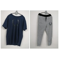Used FRED PERRY T-shirt & Trouser Jogger in Dubai, UAE