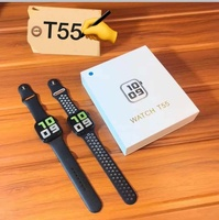 Used T55 SMARTWATCH 2021 ELE1 in Dubai, UAE