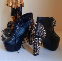 Used Jeffrey Campbell Leather Ankle Boots 41 in Dubai, UAE