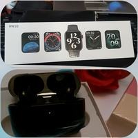 Used APPLE SMARTWATCH  HW22 QMD AIRPODS ELE1 in Dubai, UAE