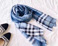 Used Burberry blue scarf in Dubai, UAE