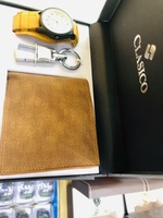 Used Watch wallet keychain combo giftbox in Dubai, UAE