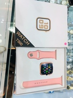 Used T500 pink smart watch in Dubai, UAE