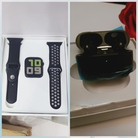 Used BUNDLE OFFER T55 WATCH AND EARPODS PRO in Dubai, UAE