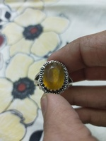 Used Yellow topaz ring for sale in Dubai, UAE