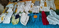 Used New born baby clothes bundle 0-3 months in Dubai, UAE