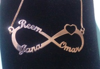 Used Pendant Reem Jaana Omar necklace new in Dubai, UAE