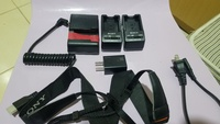 Used Sony camera charger sets @ throw away pr in Dubai, UAE