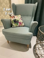 Used 3 chairs set for living room in Dubai, UAE