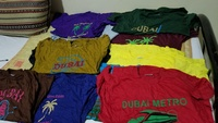 Used 11 trousers and 11 t shirts for boys in Dubai, UAE