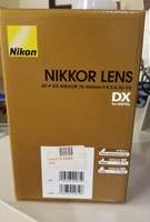 Used Nikon lens, brand new with manuals. in Dubai, UAE