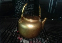 Used Aluminium teapot brand new medium in Dubai, UAE