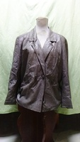 Used Leather jacket for ladies made in france in Dubai, UAE